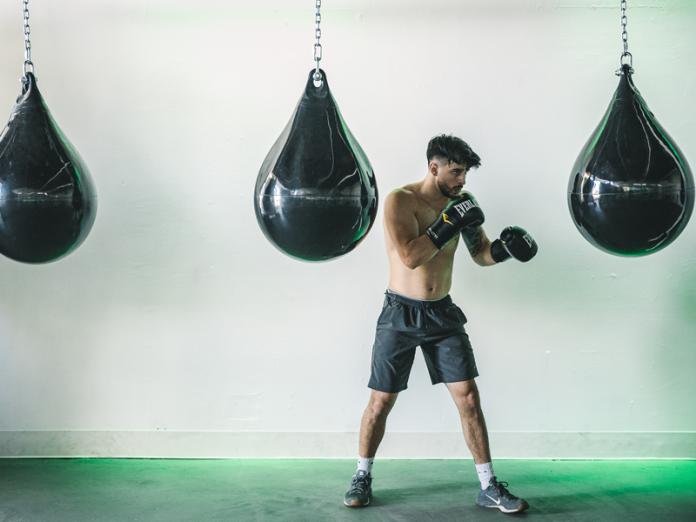 Joél Cotreras, instructor at Union boxing gym