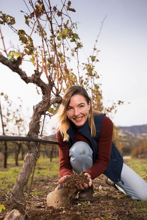 Winemaker Nicole Salengo