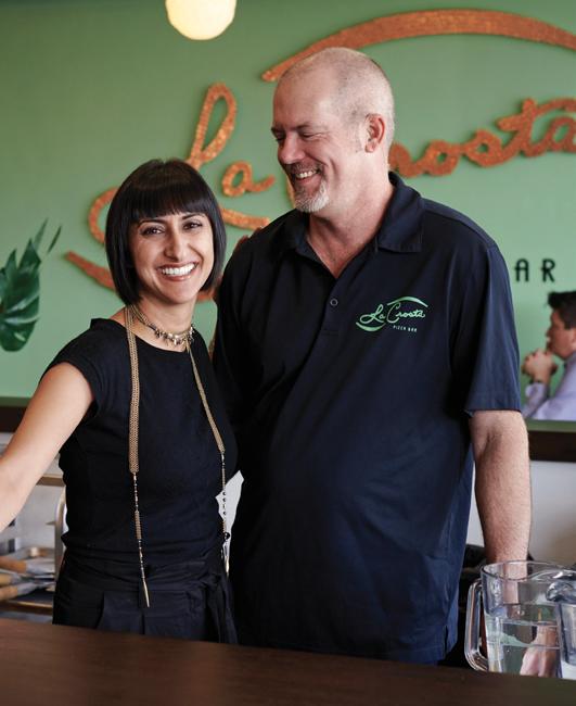 Sara Arbabian and Steve Tatterson