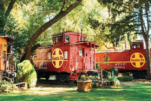 Featherbed Railroad Bed & Breakfast Resort.