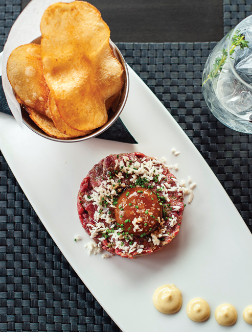 Wagyu steak tartare