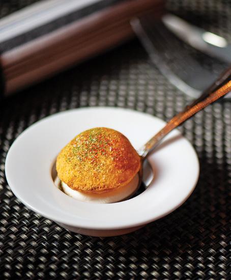 Potato Puff at Origami Asian Grill