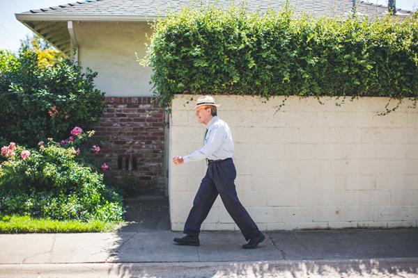 David Allen walking