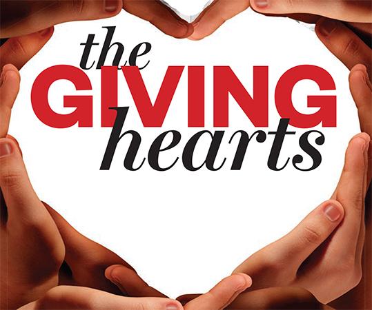giving hearts volunteer
