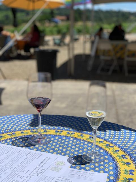 wine tasting amador