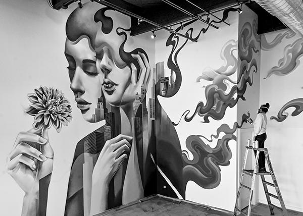 gamez mural