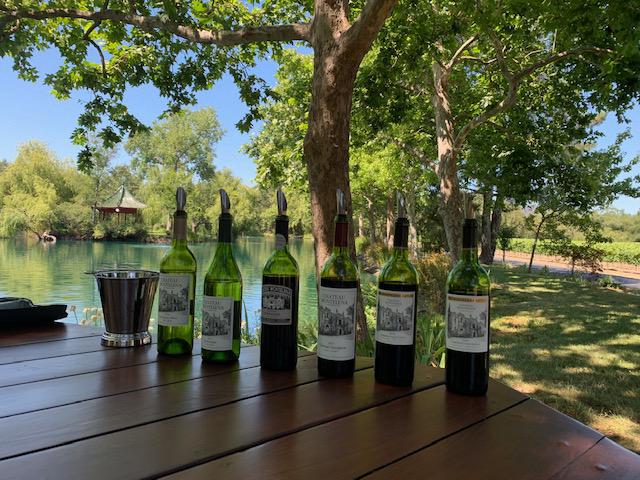 wine tasting at chateau montelena