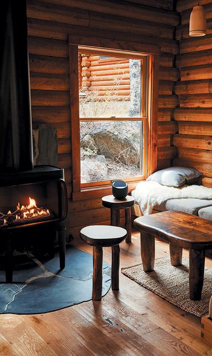 A cabin at Wylder Hotel Hope Valley