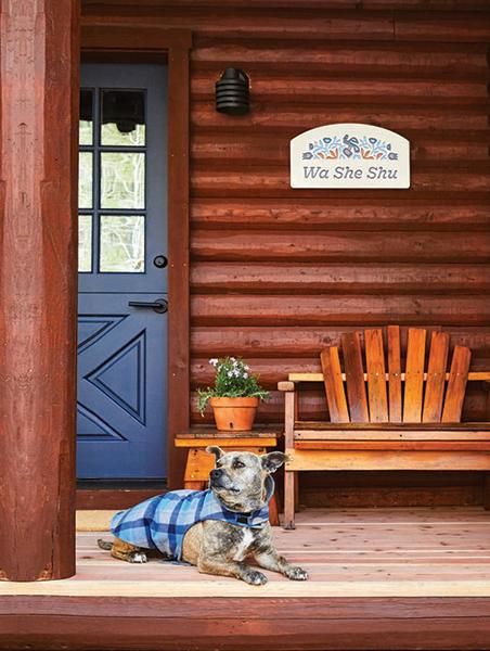 A dog-friendly cabin at Wylder Hotel Hope Valley