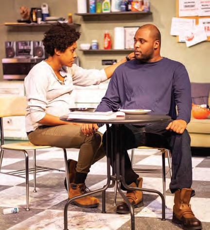 """Solomon in """"Skeleton Crew"""" at Big Idea Theatre"""
