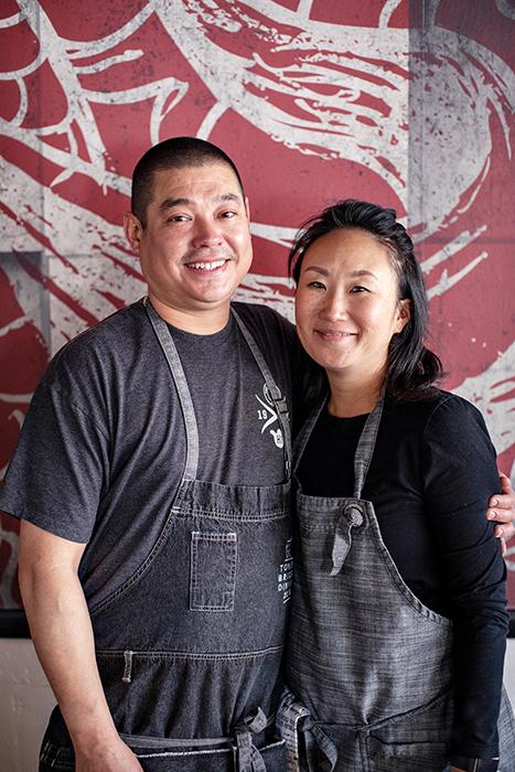Craig Takehara and Tokiko Sawada