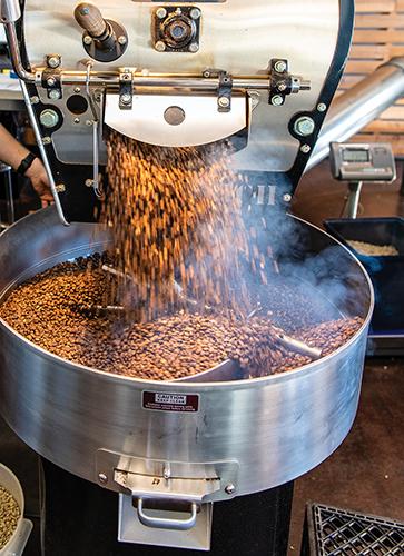 coffee bean prep