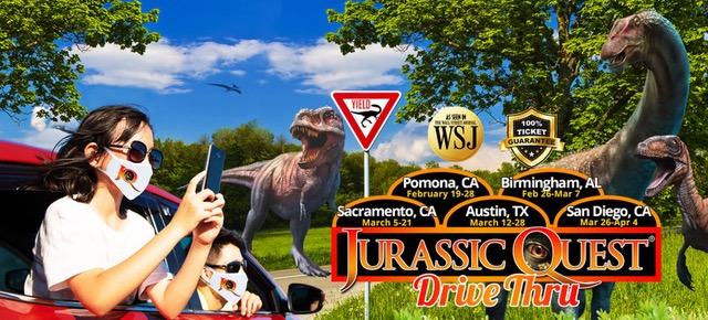 dinosaur Jurassic Quest