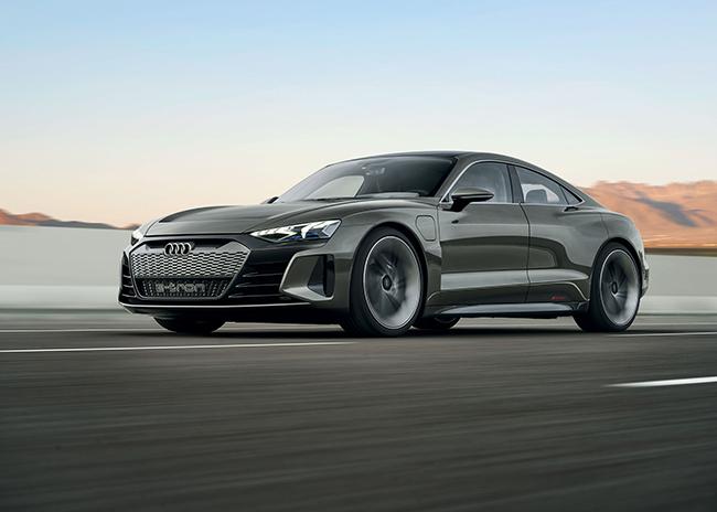 Audi E-Tron GT electric vehicle