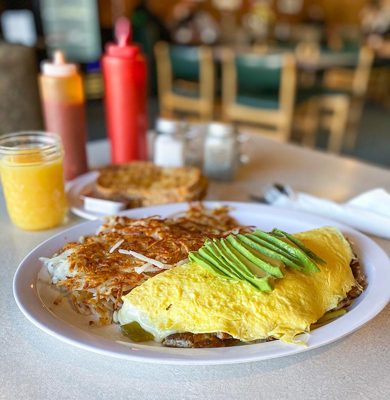 Edelweiss Omelet