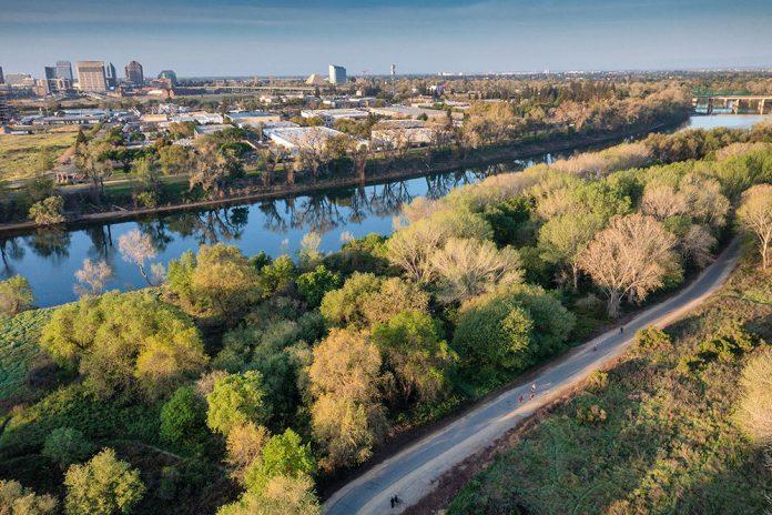 american river parkway bike ride trail
