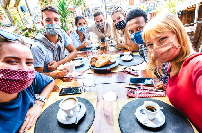 restaurant dining during the pandemic